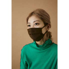 pleated mask BRN【返品不可商品】