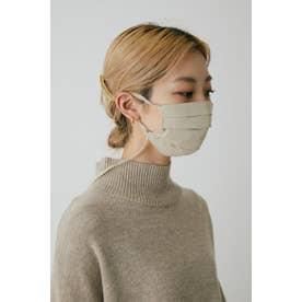 pleated mask BEG【返品不可商品】