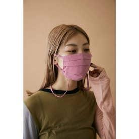 pleated mask PNK【返品不可商品】