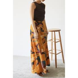 pattern easy skirt 柄ORG5