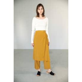 layerd pants YEL