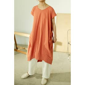 cut color dress ORG