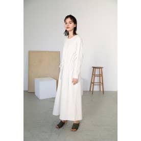 cutsew long dress O/WHT1