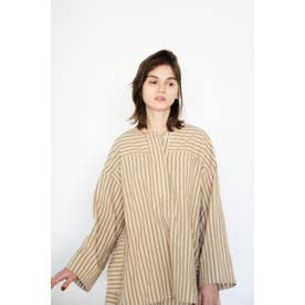 stripe tunic 柄BEG5