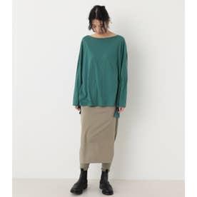 loose long t-shirt GRN