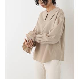 round collar blouse BEG