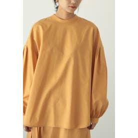 gather sleeve shirt L/ORG1