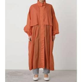 nylon stand collar coat ORG