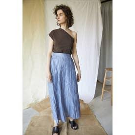 random pleated easy skirt BLU