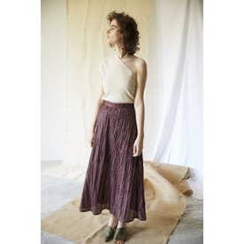 random pleated easy skirt BRD