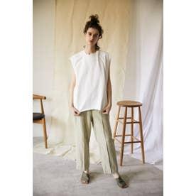 rayon linen easy pants BEG
