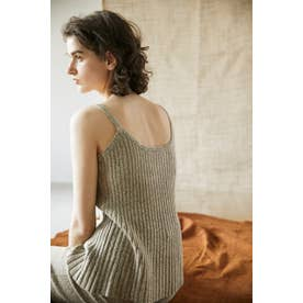 knit flare camisole M/BEG7