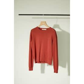 washable longsleeve knit RED