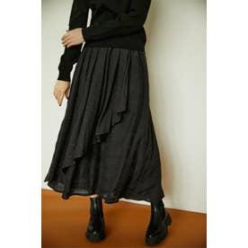 wrap skirt BLK
