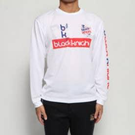 テニス 長袖Tシャツ BKロングTシャツ T-9250 (ホワイト)