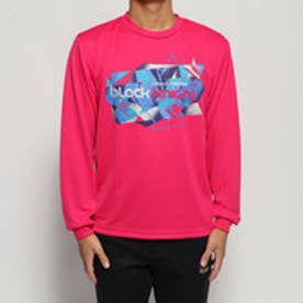 テニス 長袖Tシャツ BKロングTシャツ T-9270 (ピンク)