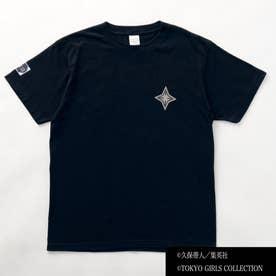 【日番谷冬獅郎着用モデル】Tシャツ 【返品不可商品】(ブラック)