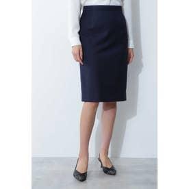 ◆シャークスキンセットアップスカート ネイビー