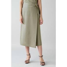 ◆ストレッチキュプラニットセットアップスカート モカ5