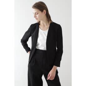 ◆ボンディングセットアップジャケット ブラック