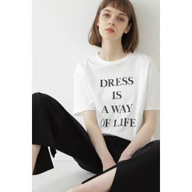 ロゴプリントTシャツ 白