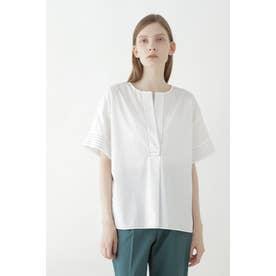 ステッチタイプライターシャツ ホワイト