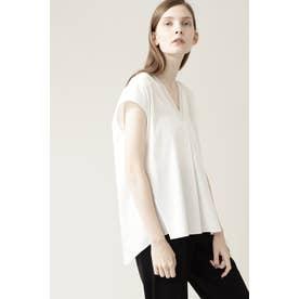 ◆ニットリブTシャツ オフ
