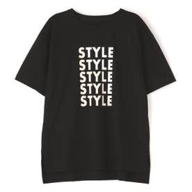 ◆ロゴTシャツ ブラック