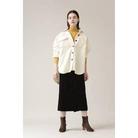 ◆ダブルベルトスカート ブラック
