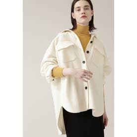◆CPOjシャツジャケット オフホワイト