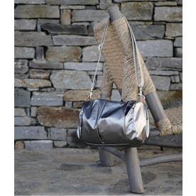 メタリックカラーショルダーバッグ「マンマミーア」 (チタニウム)
