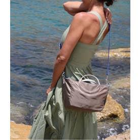 フランス製2wayバッグ 「ポジターノ」 (カカオ*ゴールド)