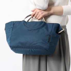 フランス製2wayバッグ 「ポジターノ」 (サファイア*ゴールド)