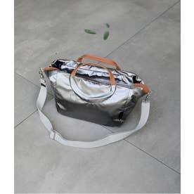 フランス製メタリックカラー2WAYバッグ「ダーティーダンシング」 (チタニウム)