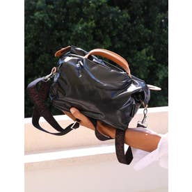 フランス製メタリックカラー2WAYバッグ「ダーティーダンシング」 (ブラック)