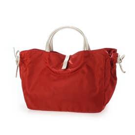 フランス製ナイロンハンドバッグ「コモ (レッド*ゴールド)