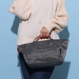 フランス製2wayバッグ 「ポジターノ」 (ダークグレー*ゴールド)
