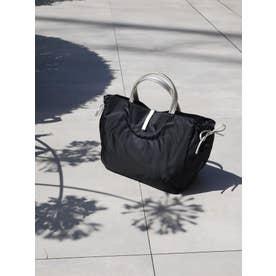 フランス製 A4ナイロントートバッグ「シエナ」 (ブラック*ゴールド)