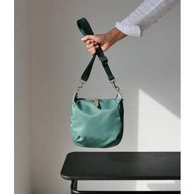 フランス製 ナイロンショルダーバッグ「ハッティー」 (アーモンド)