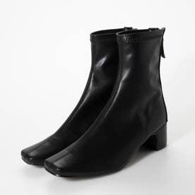 エレガントストレッチフィットブーツ (ブラック)