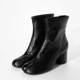 足袋風ショートブーツ (ブラック)