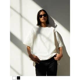 シャツ生地TシャツパートⅡ (ホワイト)