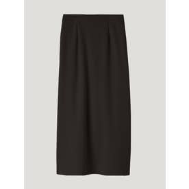 ポンチロングタイトスカート (ブラック)