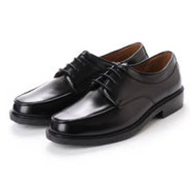 ビジネスシューズ メンズ 防水外羽 紳士靴 (BLACK)