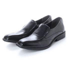 ビジネスシューズ メンズ 4cm4時間防水機能付き 紳士靴(バンプ) (BLACK)