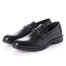 ビジネスシューズ メンズ 歩きやすい 片足約200g(26cm)軽量消臭機能付き 紳士靴(BLACK)