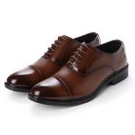 ビジネスシューズ メンズ 歩きやすい 片足約200g(26cm)軽量消臭機能付き 紳士靴(D.BROWN)