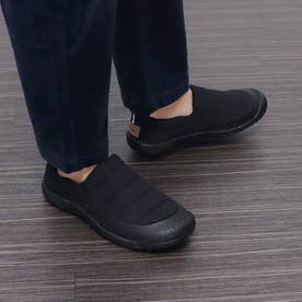 アウトドアカジュアルシューズ スリッポンスニーカー メンズ (BLACK)