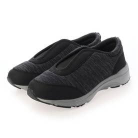 「 新あなた想い」 介護シューズ レディース メンズ 室内 幅広 3E 4E 軽量靴 センターゴア リハビリシューズ 外反母趾 (BLACK) Braccianoセレクト