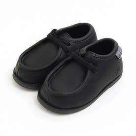 モカシン風ブーツ (ブラック)